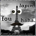 Lapin fou haha.