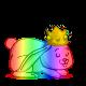 🌈 虹色。